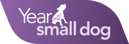Year of the small dog logo